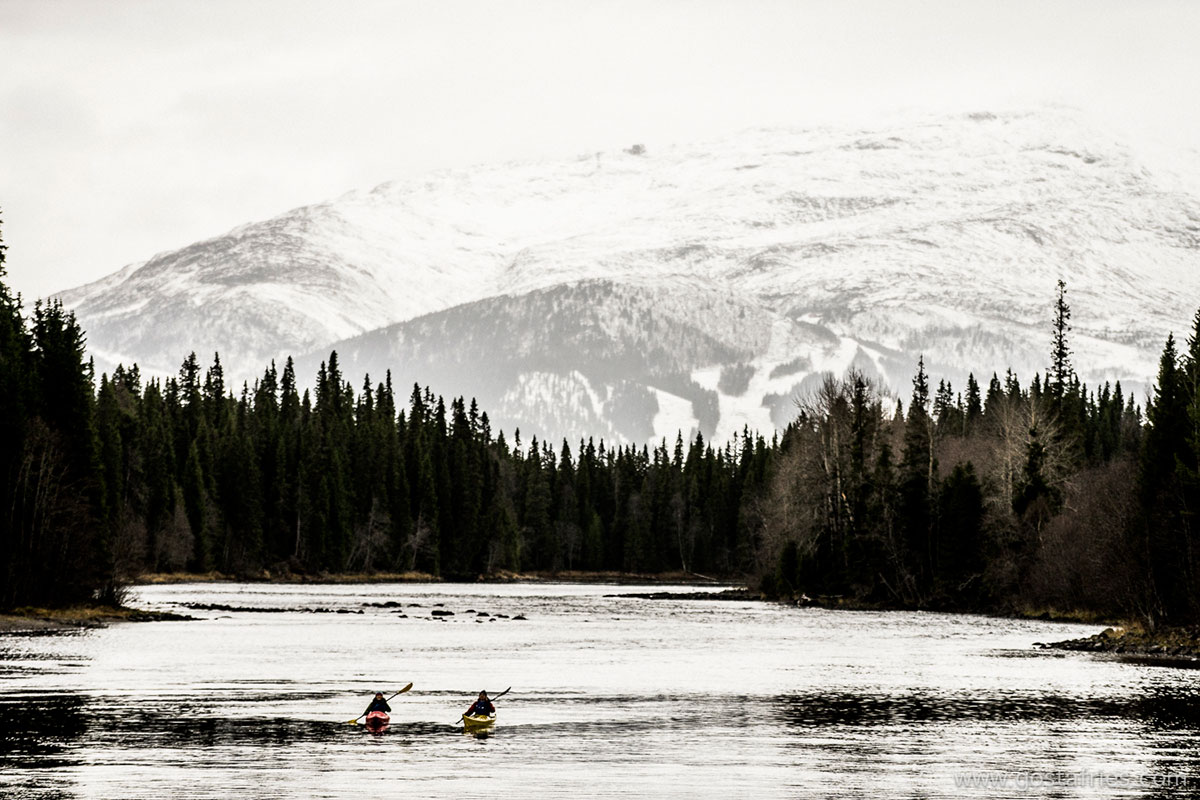 Paddling På Åre Sjön
