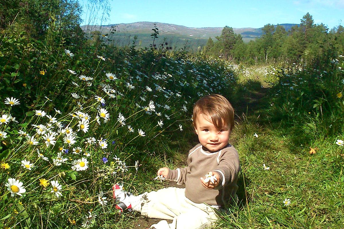 Vandring Med Barn