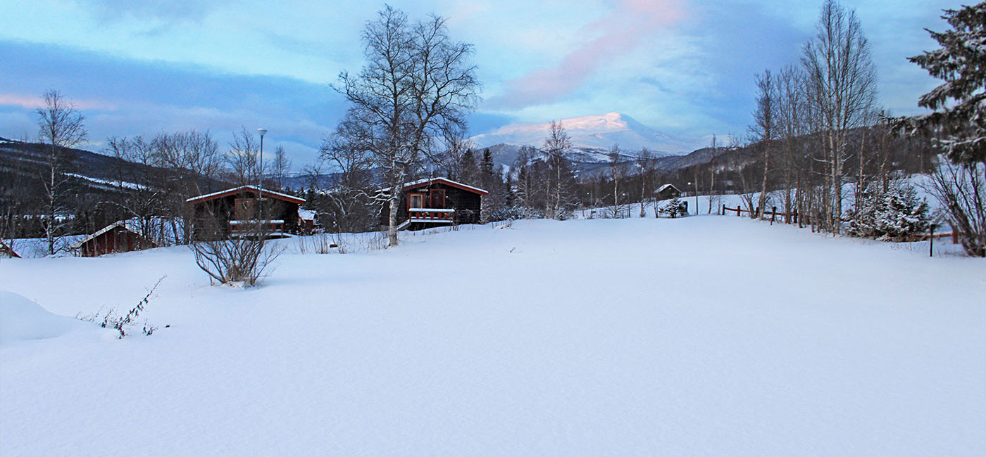 Åre Camping I Vinterskrud