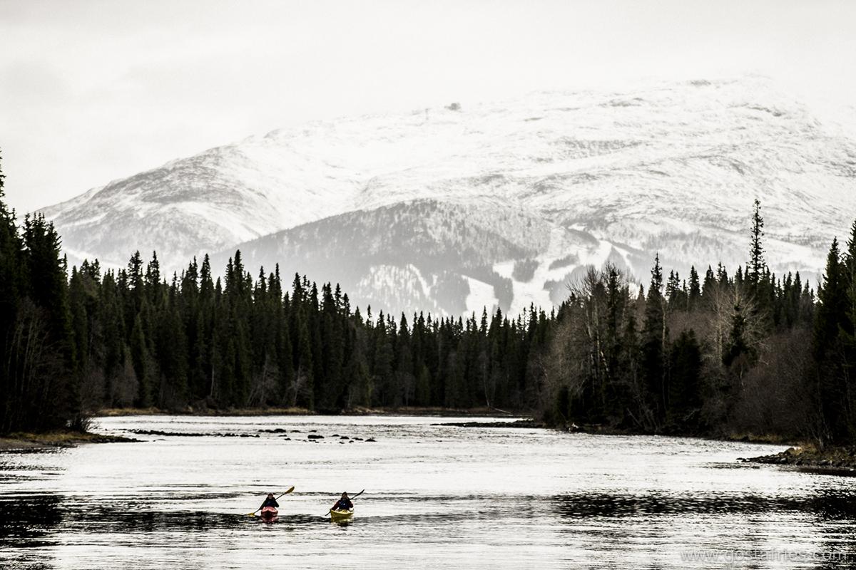 Paddla På Åre Sjön