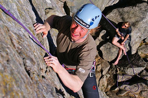 Testa att klättra under ditt besök i Åre